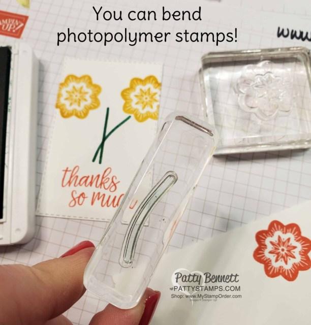 Sweet Symmetry / In Symmetry photopolymer stamp set tip.