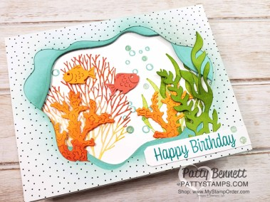 Layering Diorama Seascape Bundle Card