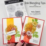 Ink Blending tips with Stampin