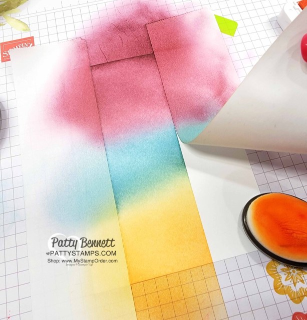 Use Post-It brand Removeable Labeling Tape when Ink Blending and masking.