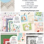 Free Sale-a-Bration gifts from Stampin