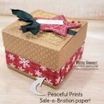 Scalloped Kraft Treat Box from Stampin