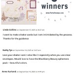 3 Blog Candy Winners for Stampin