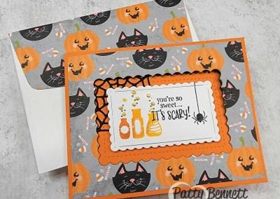 Cute Halloween Fun Fold Card Video Tutorial