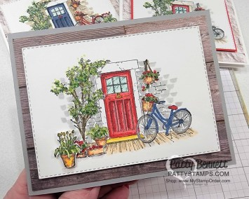 Feels Like Home Stampin' Blends Coloring Video