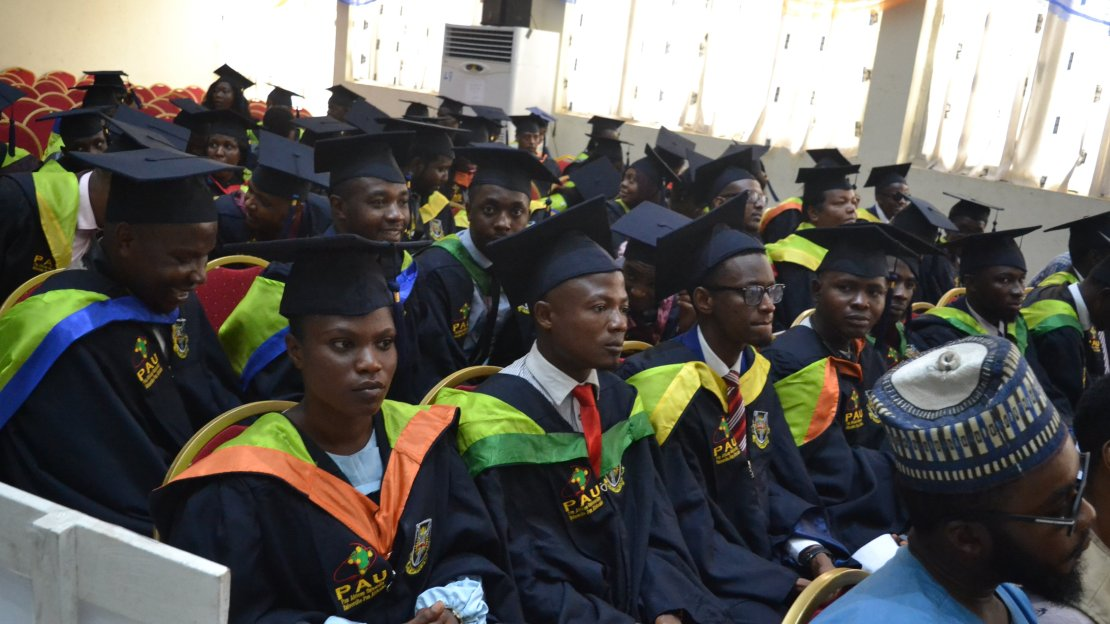 Matriculation Ceremony for the academic year 2019/2020   Pan African  University