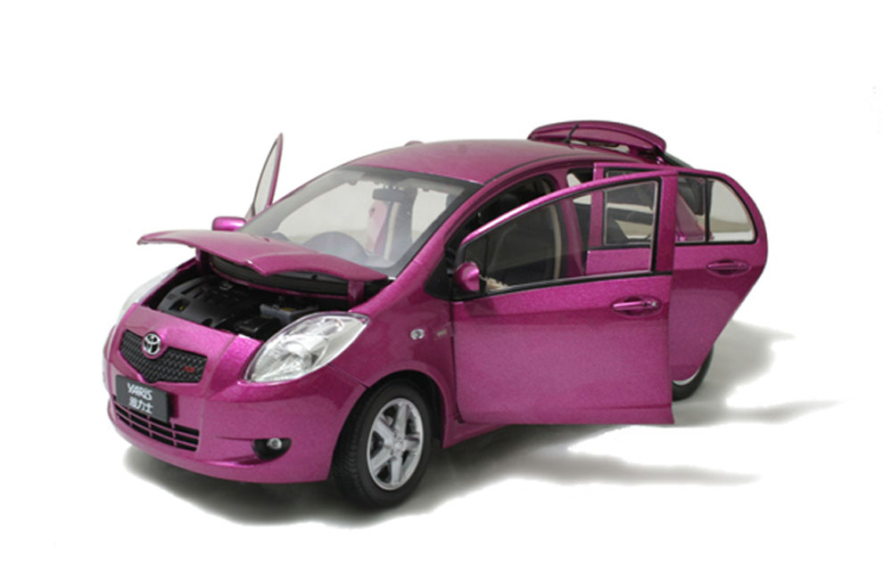 Toyota Yaris 2008 1 18 Scale Diecast Model Car Wholesale