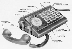 WE 500series Telephone Types  plus 1500, 2500, 3500