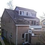 Rietvinkstraat te Delden vergroten woonhuis