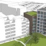 Nieuwbouw appartementengebouw Bruningmeijer te Enschede