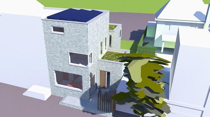 nieuwbouw woning, vrijstaand melkhal cobero terrein paul koster ruimte beleving architect enschede hengelo almelo oldenzaal borne boekelo haaksbergen