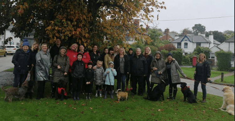 Sara Hopper and Sara Ansell from Hythe have organised a sponsored walk in aid of the Paula Carr Charity