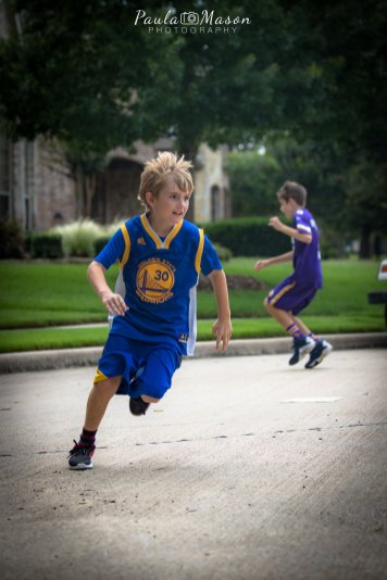 Streetball with Z and his Gang