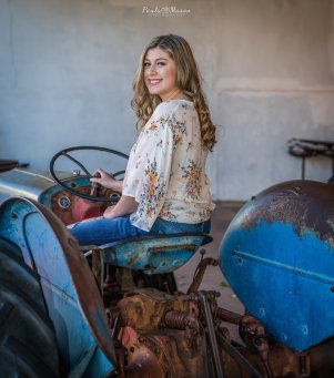 I'm so glad AK was excited to pose on this old tractor. This is one of my favorite pictures!