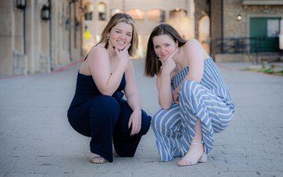 Twin Senior Session = Double the Fun