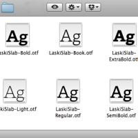Caligrafía, lettering o tipografía