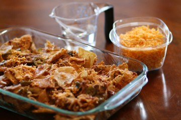Chilaquiles Preparation