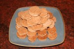Ginger Lemon Shortbread Cookies