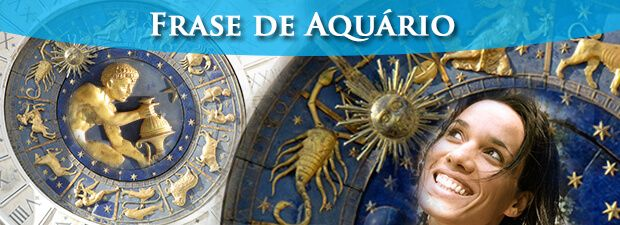 frase de aquário