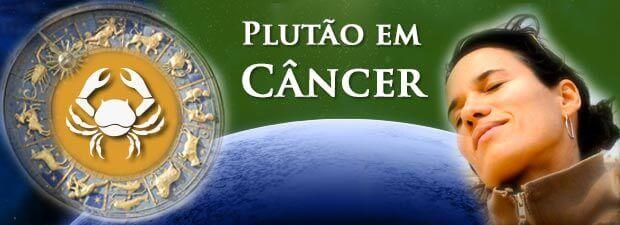 plutão em câncer