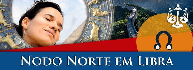 Nodo Norte em Libra