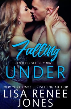 Front cover, Falling Under by Lisa Renee Jones