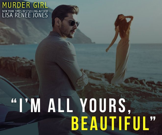 Teaser quote and photo from Murder Girl