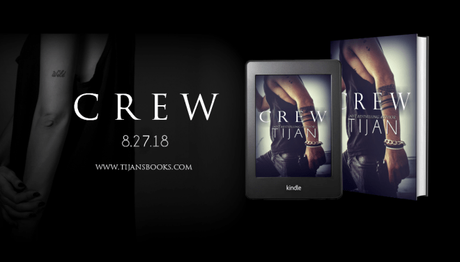 Promo banner for Crew, by Tijan