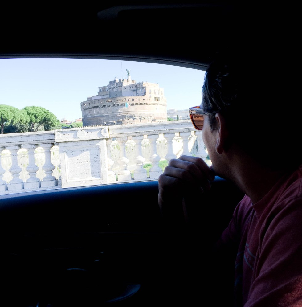 Car service in Rome, Italy