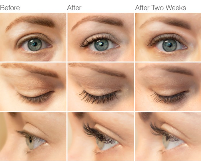 Lash Extensions Table