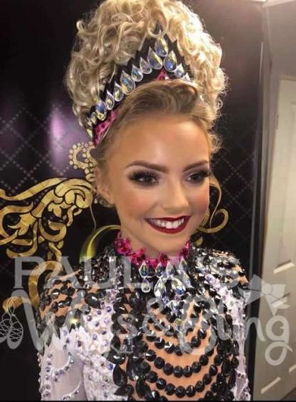 molly irish dancing wig