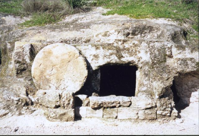 Emphasizing the resurrection graphic