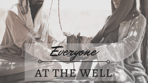 jesus and the woman a the well