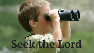Seeking the Lord (1)