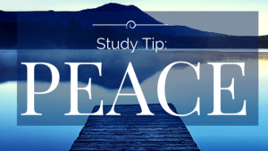 Study Tip-Peace
