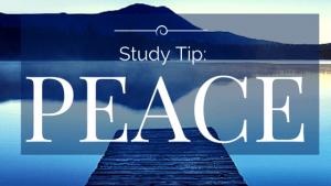 Study Tip-Peace