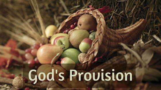 God's Provision title graphic