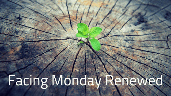 Facing Monday Renewed title graphic