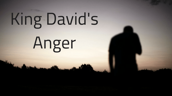 Kings David's anger title graphic