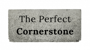 The perfect cornerstone title graphic