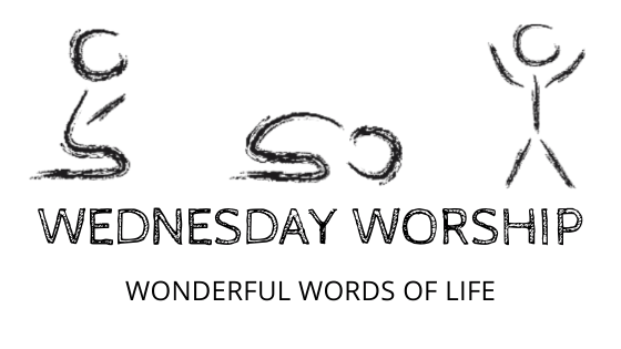 wonderful words of life title graphic