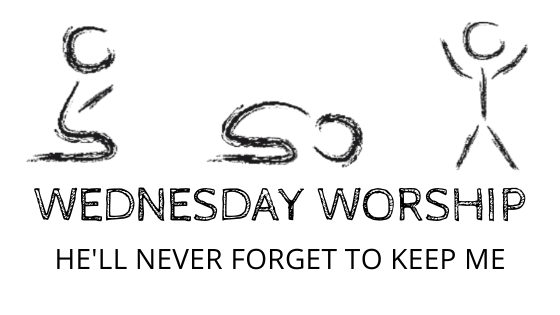 He'll Never Forget to Keep Me title graphic