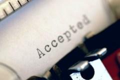 typewritten accepted
