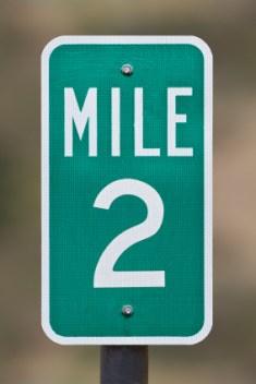mile 2 marker