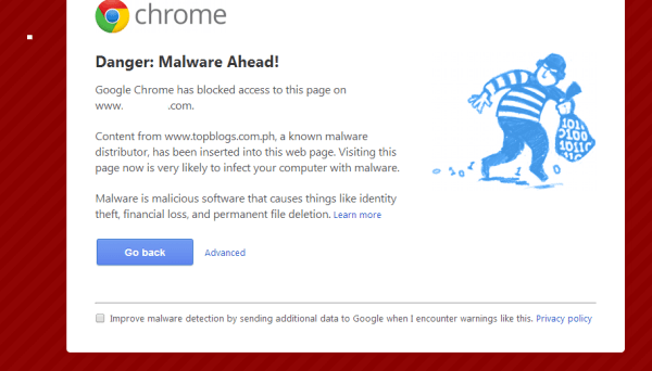TopBlogs.com.ph infected by Malware
