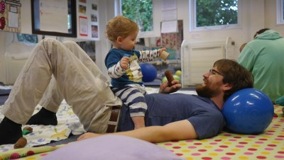 Movement Play Dads Babies Totnes