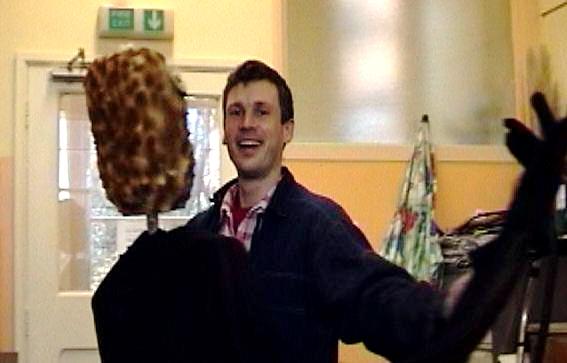 Paul & Puppet Dancing