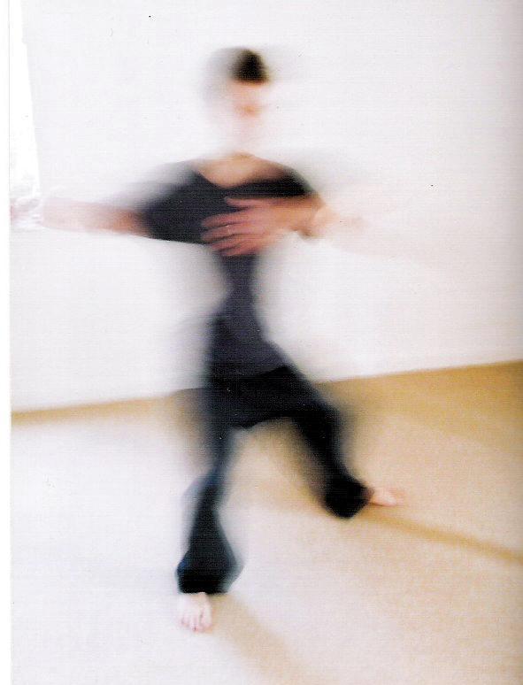 Paul Dancing Blurred Image
