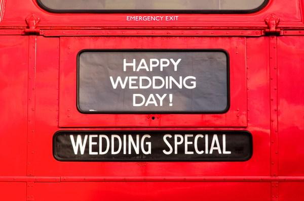 Routemaster, Wedding bus