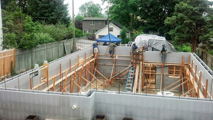 Poured Place Concrete Homes